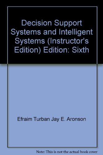 9780130908254: Decision Support Systems and Intelligent Systems