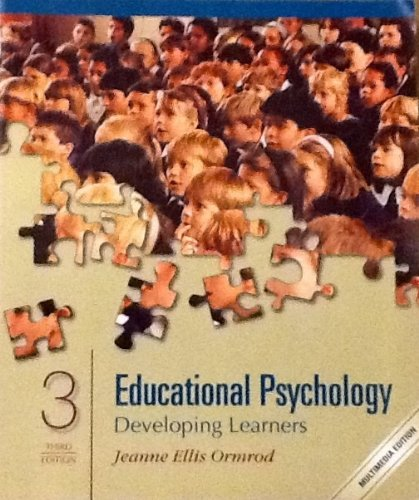 9780130908438: Educational Psychology: Developing Learners