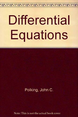 9780130909442: Differential Equations