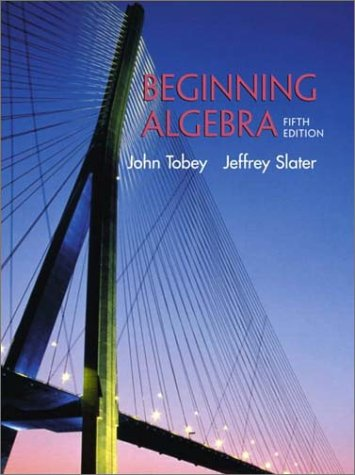 9780130909510: Beginning Algebra (5th Edition)