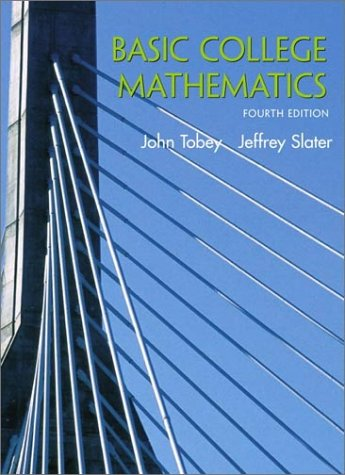 9780130909541: Basic College Mathematics (4th Edition)