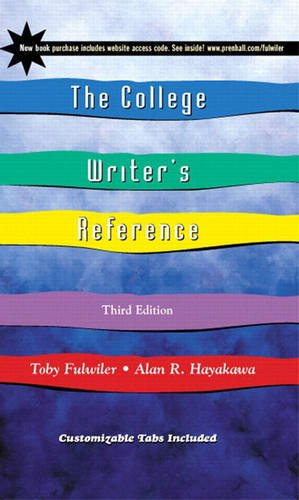 9780130909565: The College Writer's Reference