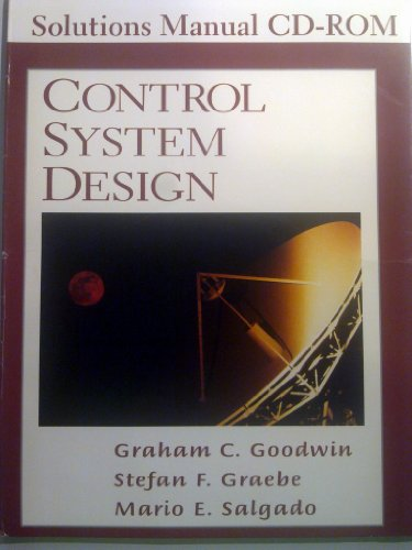 9780130910028: Control System Design Solutioons Manual CD-ROM