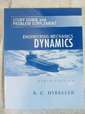 9780130910196: Engineering Mechanics: Dynamics Study Guide and Problem Supplement