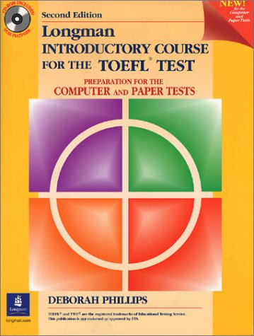 9780130910806: Student Book with CD-ROM without Answer Key, Longman Introductory Course for the TOEFL Test: Perparation for the Computer and Paper Tests: Preparation ... Student Book and CD-Rom Without Answer Key