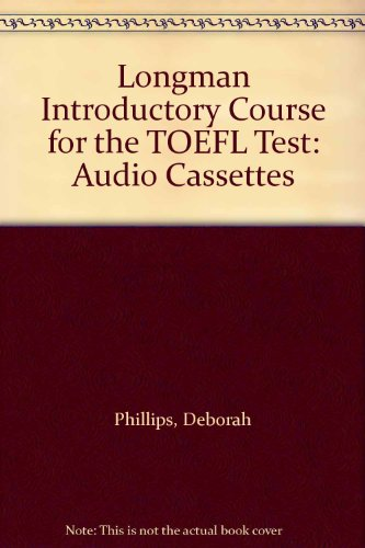 9780130910943: Longman Introductory Course for the TOEFL Test: Audio Cassettes