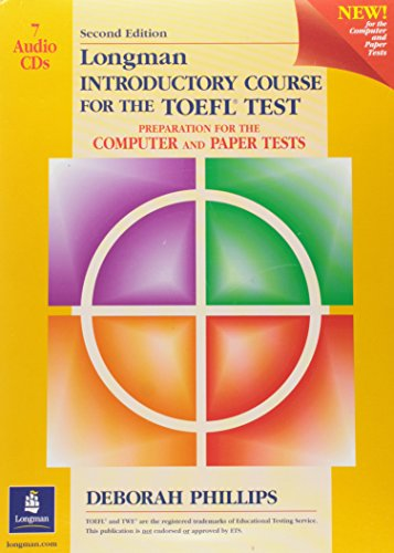 9780130910950: Longman Introductory Course for the TOEFL Test: Audio Cds