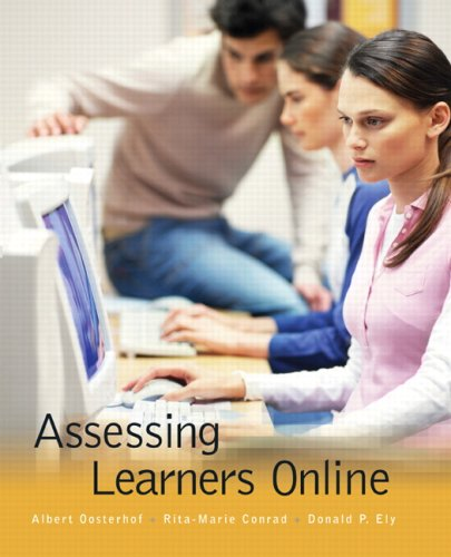 9780130911223: Assessing Learners Online