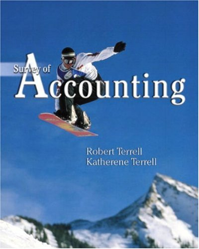 9780130911841: Survey of Accounting: Making Sense of Business