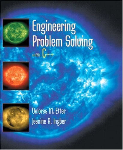 9780130912664: Engineering Problem Solving with C++