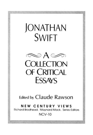 9780130912992: Jonathan Swift: A Collection of Critical Essays