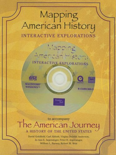 9780130913685: Mapping American History: Interactive Explorations
