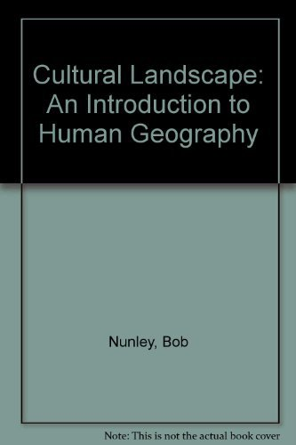 9780130913920: Cultural Landscape: An Introduction to Human Geography, Study Guide