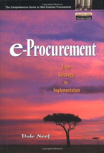 9780130914118: e-Procurement: From Strategy to Implementation