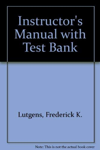 9780130917287: Instructor's Manual with Test bank to accompany Creswell's Educational Research (Planning, Conducting, and Evaluating Quantitative and Qualitative Research)