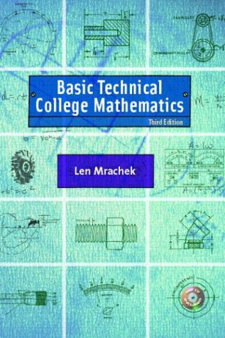 9780130917515: Basic Technical College Mathematics, Third Edition