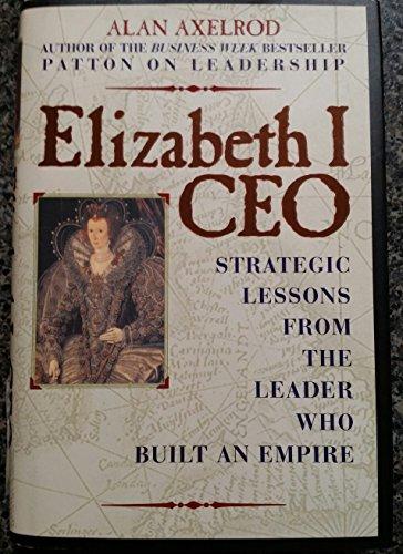 9780130917638: Elizabeth 1 CEO