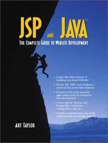 9780130918130: JSP and Java: The Complete Guide to Website Development