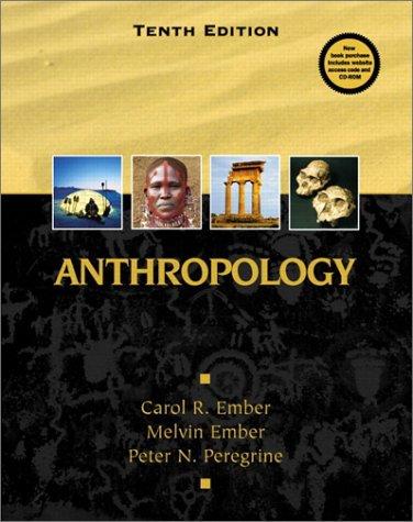 9780130918369: Anthropology