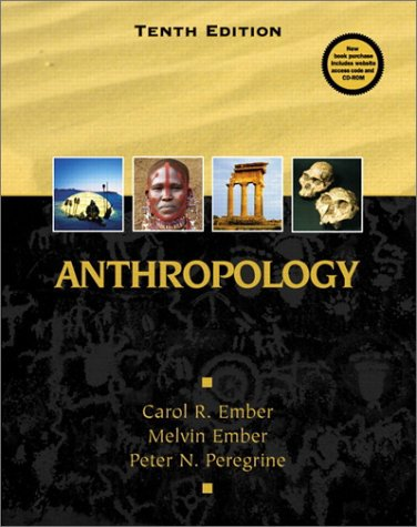 9780130918369: Anthropology (10th Edition)