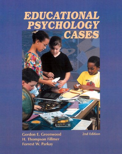 9780130918468: Educational Psychology Cases (2nd Edition)