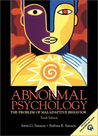9780130918499: Abnormal Psychology: The Problem of Maladaptive Behavior (10th Edition)