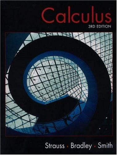 9780130918710: Calculus (3rd Edition)