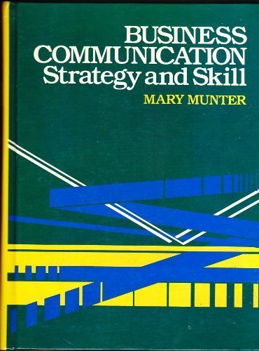 9780130919199: Business Communication: Strategy and Skill