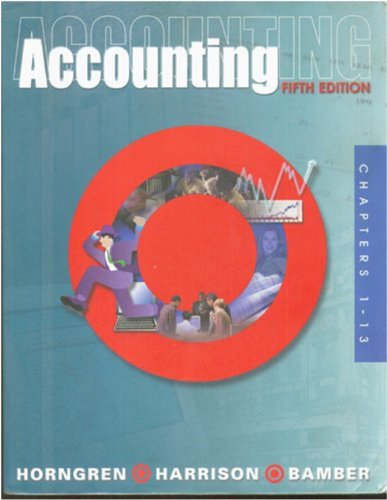 9780130919823: Accounting Study Guide Chapters 1 13