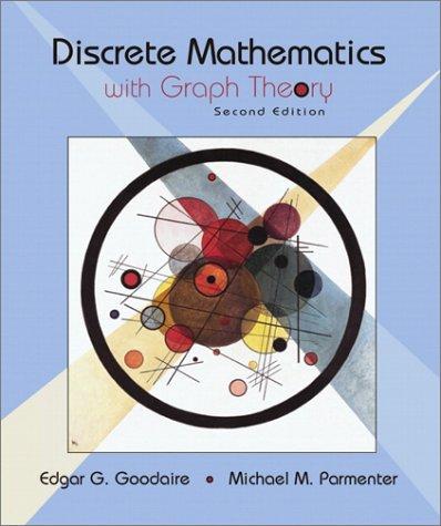 9780130920003: Discrete Mathematics with Graph Theory (2nd Edition)