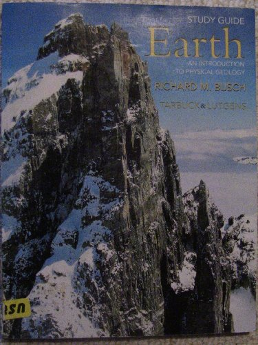 9780130920317: Study Guide for Earth: An Introduction to Physical Geology