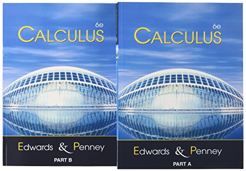 Calculus (6th Edition): Edwards, C. Henry;