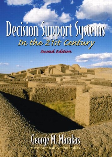 9780130922069: Decision Support Systems (2nd Edition)