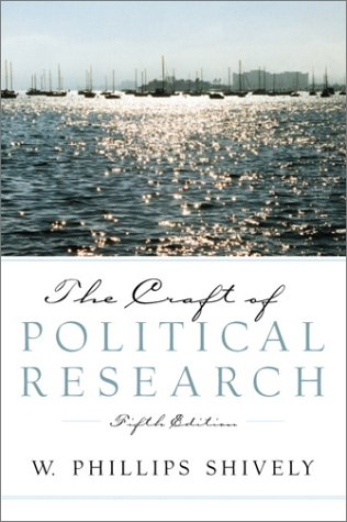9780130922328: The Craft of Political Research (5th Edition)
