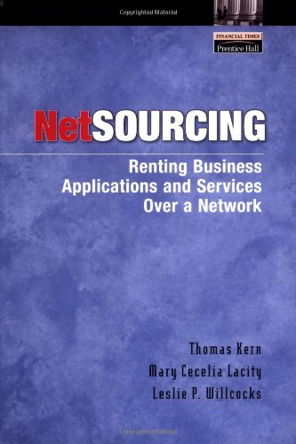 9780130923554: Netsourcing: Renting Business Applications and Services Over a Network
