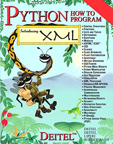 9780130923615: Python How to Program(Parts A & B)