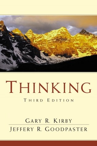 Thinking (3rd Edition): Gary R. Kirby,