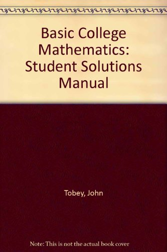 9780130924193: Basic College Mathematics