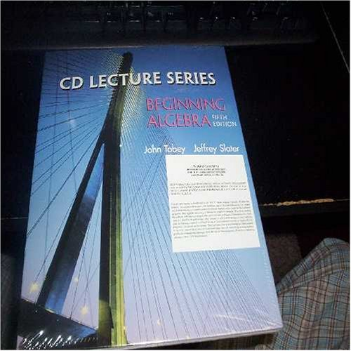 9780130925237: CD Lecture Series: Beginning Algebra, Fifth Edition