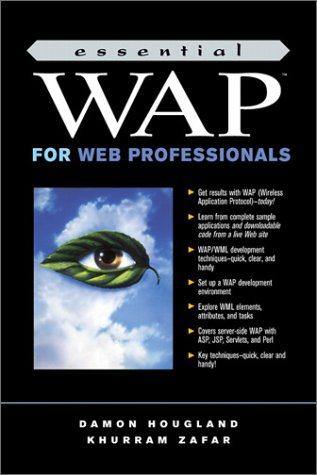 9780130925688: Essential WAP for Web Professionals