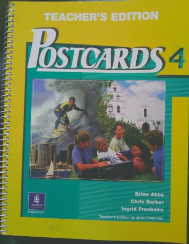 9780130925985: Postcards 4. Teacher's Edition