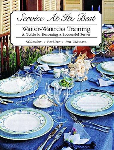9780130926265: Service at Its Best: Waiter-Waitress Training