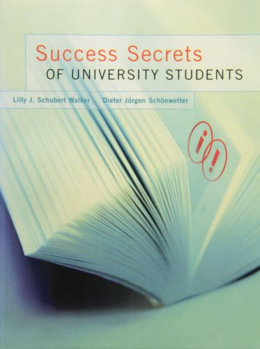 9780130926470: Success Secrets of University Students