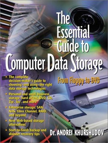 9780130927392: The Essential Guide to Computer Data Storage: From Floppy to DVD