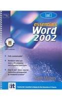 9780130928078: Essentials: Word 2002 Level 3 (Essentials Series: Microsoft Office XP)