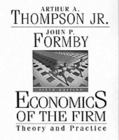 9780130928672: Economics of the Firm