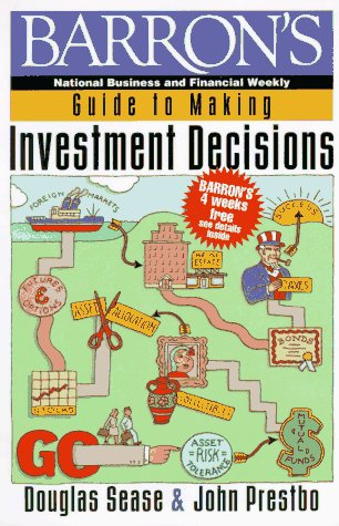 9780130929099: Barron's Guide to Making Investment Decisions