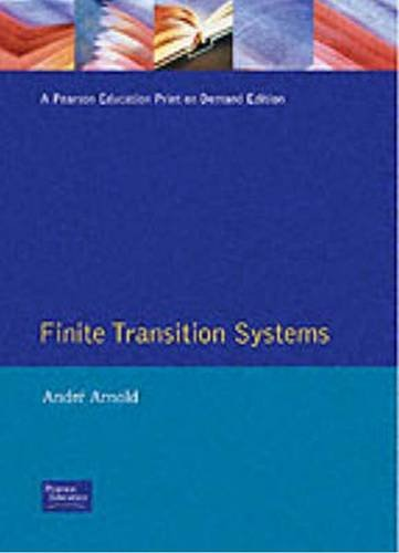 9780130929907: Finite Transition Systems: Semantics of Communicating Systems (Prentice-Hall International Series in Dynamics)