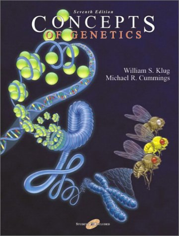 9780130929983: Concepts of Genetics (7th Edition)