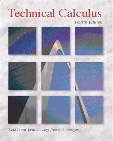 9780130930040: Technical Calculus (4th Edition)
